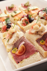 Sun Peaks Catering Canapes Sandwiches